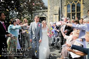 confetti shot Sevenoaks Photographer